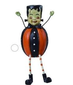 This cute little Frankenstein sits on your shelf and creates Halloween mischief! He is sure to make your Halloween a bit cuter. Classy Halloween, Frankenstein, Halloween Decorations, Whimsical, Shelf, Make It Yourself, Christmas Ornaments, Holiday Decor, Cute