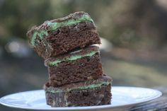 Recipe Shoebox: BYU Mint Brownies