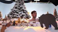 Making of Bear and the Hare - John Lewis  I love behind the scenes videos as it shows just how much time and effort goes into creating amazing work! This is beautiful!