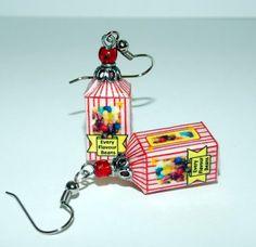 Every Flavour Jelly Bean Earrings by SplatterPalette