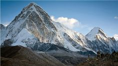 From the summit of Nepal's Kala Patthar, foreground, one can get a full view of Everest from base camp to summit, a sight worth the two-week trek to get there