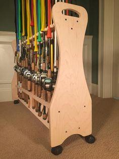 Ex-Large Rod Rack - Unfinished