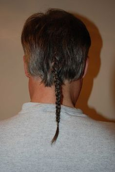 Style we DON'T miss -- Rat tails (1980s)...And these are still walking around today! SMH