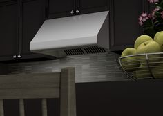 ZLINE 30 in. 1200 CFM Under Cabinet Range Hood in stainless steel (432-30) has a modern design and built-to-last quality that would make it a great addition to any home or kitchen remodel. This hood's high-performance 4-speed motor will provide all the power you need to quietly and efficiently ventilate your kitchen.