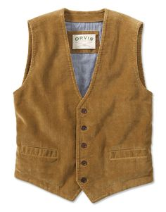 Corduroy Vest - High Street Corduroy Vest -- Orvis on Orvis.com!