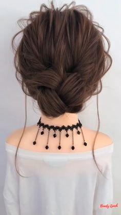 Hair Tutorials For Medium Hair, Cute Hairstyles For Medium Hair, Hairstyle Tutorials, Donut Bun Hairstyles, Diy Hairstyles, Hair Bun Maker, Hairdo For Long Hair, Hair Upstyles, Front Hair Styles
