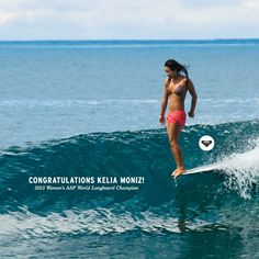 Kelia Moniz. I have the surfing bug and I haven't had the chance to learn yet! Saving up $ for an unforgettable summer.