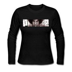 Natural Cotton Prince Logo T-shirts L Black For Women RU-LY1…