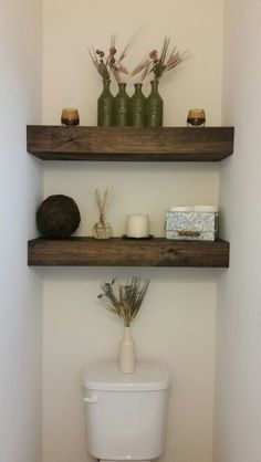 Shelves Above Toilet - Hollywood Thing
