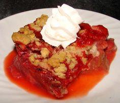 Rhubarb Crisp Recipe - Dessert.Food.com