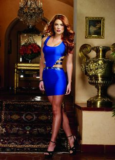 Shop Saphhire Cut Out Bodycon Dress by Dreamgirl (#9657) on Donna Dolce
