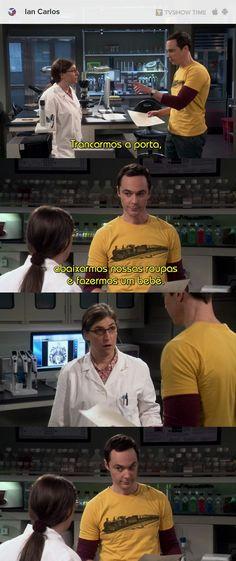 Quem é vc é o que fez com o Sheldon?
