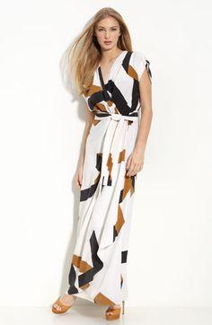 Diane von Furstenberg 'Ethyl' Maxi Dress $545