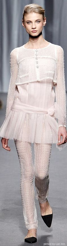 Chanel Couture Spring 2011.