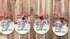 Christmas Tags | Not2Shabby DT Project | Neat & Tangled