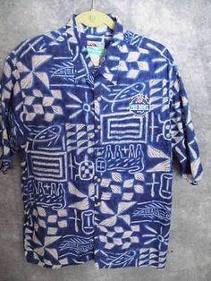 Reyn-Spooner-XL-2006-Hawaiian-Pro-Bowl-Aloha-Shirt-All-Star-NFL-S-Slvs-Fast-Ship