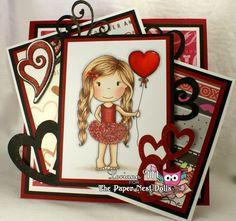 The Paper Nest: Heart Balloon Ellie @lori ann