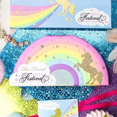 New limited Life's A Festival Collection from Too Faced 2018 - Eyeshadow & Highlight Palette. #affiliate #toofaced #ShopStyle