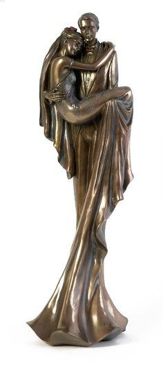 Bronze Art Nouveau