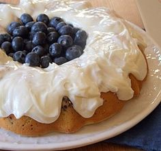 This recipe for fresh Blueberry Cake is delicious and perfect for summer with lemon buttercream drizzled over the top. Summer Dessert Recipes, Just Desserts, Delicious Desserts, Yummy Food, Blueberry Cobbler Recipes, Blueberry Cake, Gooey Butter Cake, Lemon Buttercream, Let Them Eat Cake