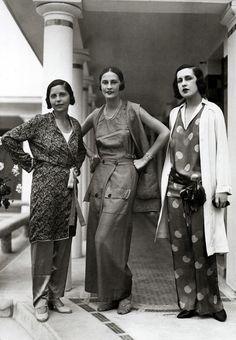 Schiaparelli Fashions - 1929 - by Elsa Schiaparelli - @~ Mlle
