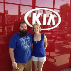Congratulations to Maggy and Frank on purchasing your 2017 Kia Sedona from Lawrence Kia!! We appreciate your business!!! Plz refer me Chris Schmidt to all your family and friends...