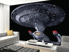 1000 images about wall mural ideas on pinterest wall star trek into darkness mural realbig wall decal