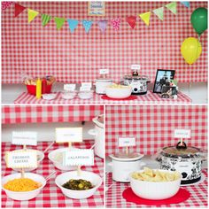 hot dog theme party!