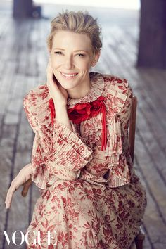 First look: Cate Blanchett for Vogue Australia December 2015 - Vogue Australia