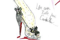 Cinderella, Christian Louboutin.