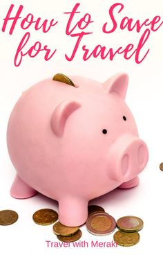 Best tips for how you can save money for travel. Read here for the best ways to save money fast, budgeting tips and the easiest day to day tips to help you save. Save Money On Groceries, Ways To Save Money, Money Tips, Money Saving Tips, Money Plan, Managing Money, Saving Ideas, Finance Tracker, Expense Tracker