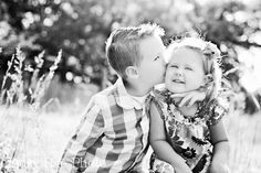 Would LOVE to get this shot of my kids. Maybe some day Will will go for it.....