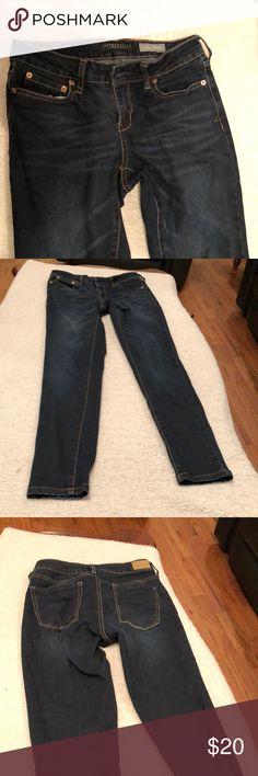 Jeggings Great condition size 2 Reg dark blue Aeropostale Pants Skinny