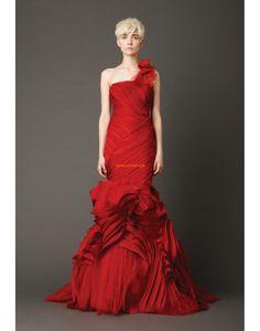 Elegant & Luxe Mouwloos Natuurlijk Bruidsmode 2014