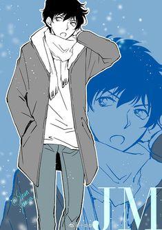 Dc Police, Police Story, Conan Movie, Detektif Conan, Detective Conan Gin, Detective Conan Wallpapers, Magic Kaito, Case Closed, Cartoon Characters