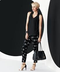 black and white pants outfit - Buscar con Google