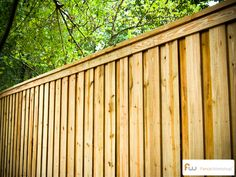 The Tillman™ Wood Privacy Fence | Pictures & Per Foot Pricing
