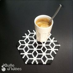 Coaster hama beads by bulle_d_idees