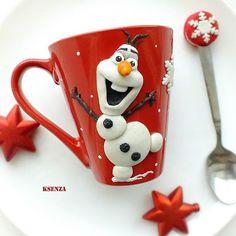 Resultado de imagem para canecas decoradas com biscuit