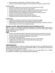 Resume Example  Resume Samples    Resume Examples And