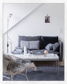 Muted toned living room @pellahedeby