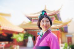 Mulan at Disney World