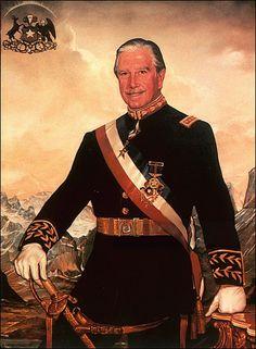 Augusto Pinochet  by RALPH WOLFE COWAN