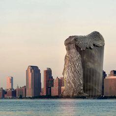 VASILY KLYUKIN. Nike of Samothrace tower.