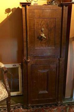 "Antique Safe   Works Great   Both Keys  20.5"" Wide x 17"" Deep 49.5' High  $650  Dealer #5600  Lost. . .Antiques 1201 N. Riverfront Blvd. Dallas, TX 75207  Monday - Saturday: 10am - 5pm"