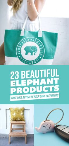 23 Adorable Products That Support Elephant Conservation