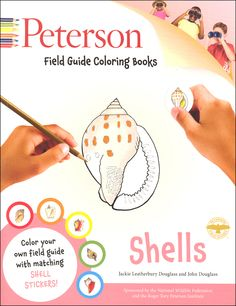 Peterson Field Guide Color-In Book: Shells | Main photo (Cover)