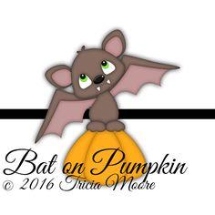 Bat on Pumpkin