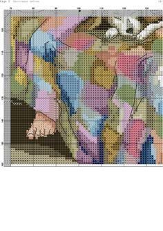 Counted Cross Stitch Patterns, Cross Stitch Charts, Cross Stitch Designs, Cross Stitch Animals, Cross Stitch Flowers, Flower Patch, Sewing Stitches, Norman Rockwell, Stitch 2