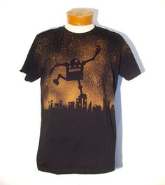 Robot SMASH tee from Raygun Robyn